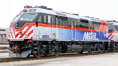 Metra issues RFP for locomotives