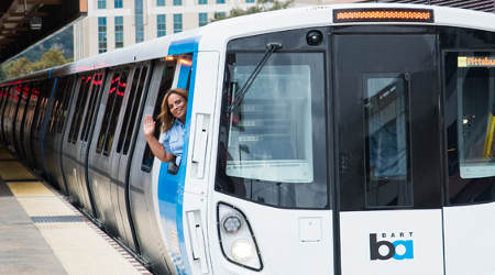 BART's 'Fleet of the Future' cars cleared for service