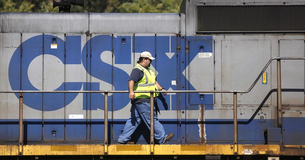 CSX customers will likely bear the burden of higher steel tariffs: CEO