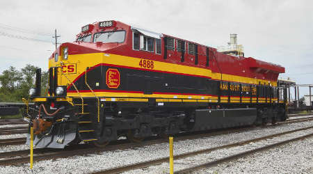 Kansas City Southern to acquire 50 GE locomotives