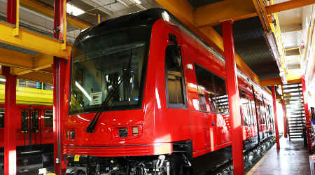 Siemens delivers first of 45 new trolley cars to San Diego MTS