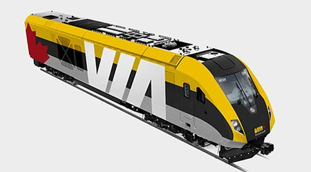 VIA Rail orders 32 trainsets from Siemens Canada