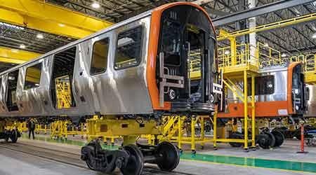 MBTA unveils first pair of new Orange Line subway cars