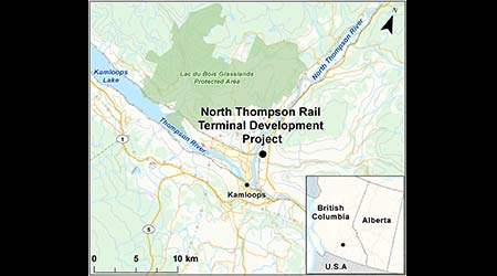 Canadian environmental agency seeks public feedback on proposed Kamloops yard