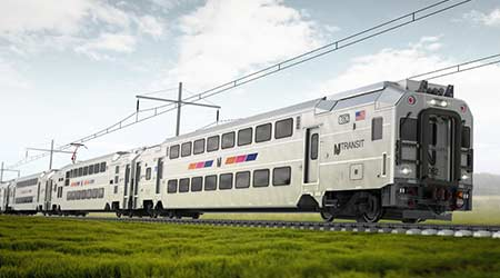 NJ Transit contracts Bombardier to provide 113 commuter-rail cars