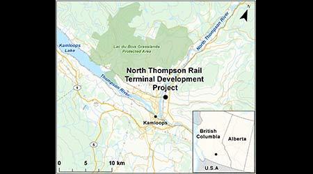 Canadian environmental agency seeks public feedback on proposed Kamloops yard
